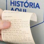 Caixa eletrônico emite extrato de histórias